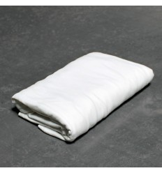 Drap-housse en Jersey Poly Coton blanc