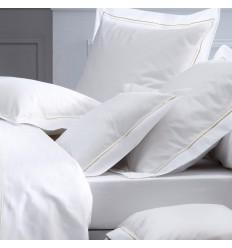 Linge de lit blanc Percale OPÉRA