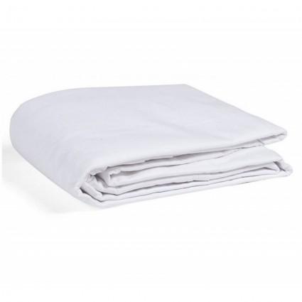 Linge de Lit blanc Standard Poly Coton