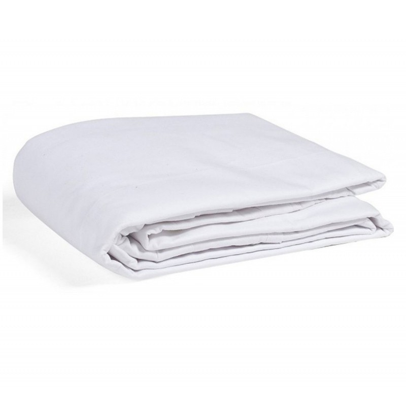 Linge de lit blanc standard poly coton - Linge de lit blanc ...