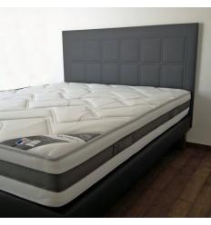 Tête de lit en skaï baby matelassé piquage carré