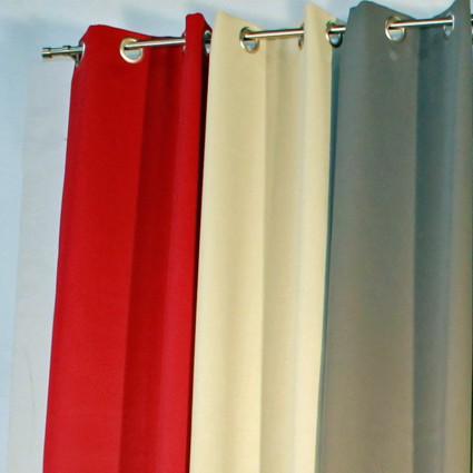 Paire de rideaux obscurcissant Night  sur oeillet nonfeu M1 150 x 240cm 58 coloris