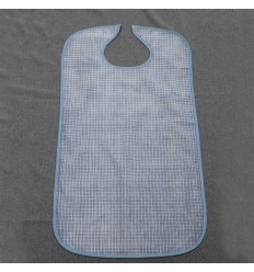 Bavoir impermeable ABSORBE ADULTE BLEU