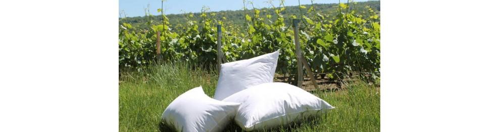 oreiller carr ou rectangulaire naturel ou synth tique traversin lamy. Black Bedroom Furniture Sets. Home Design Ideas
