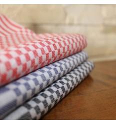 Lot de 12 serviettes de table MINI coton